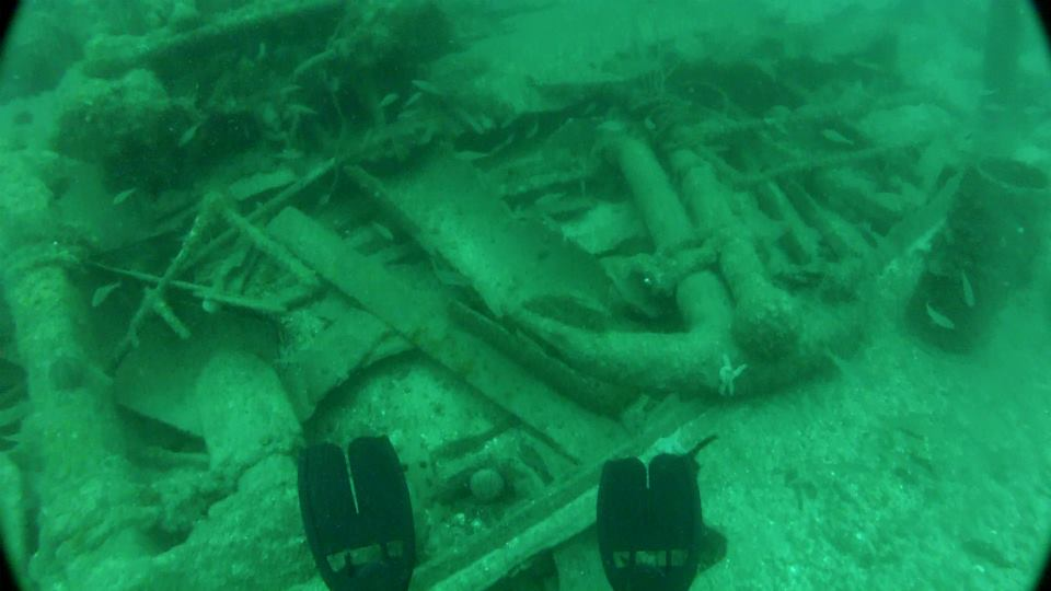 Orfordness Wreck - Dive Newquay Cornwall